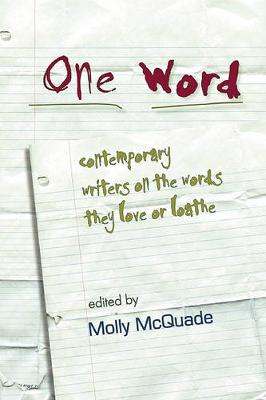 One Word by Molly McQuade
