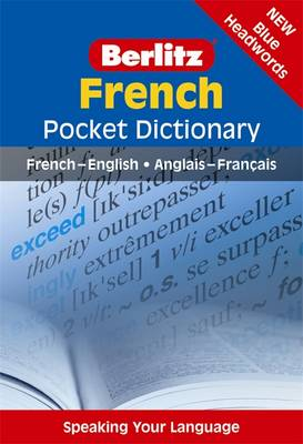 Berlitz Pocket Dictionary French book