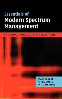 Essentials of Modern Spectrum Management book