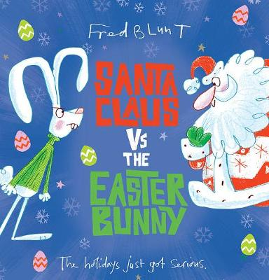 Santa Claus vs the Easter Bunny book