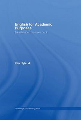 English for Academic Purposes book