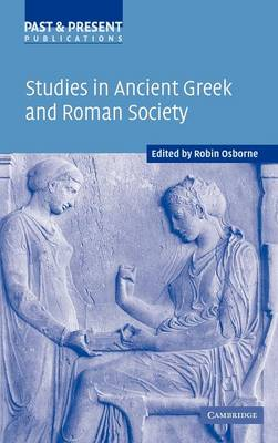Studies in Ancient Greek and Roman Society book