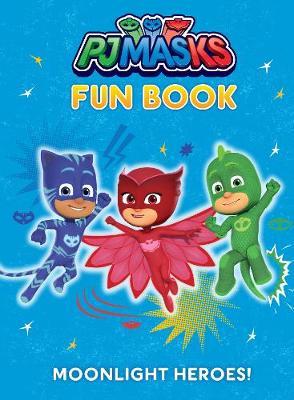 Pj Masks Fun Book by