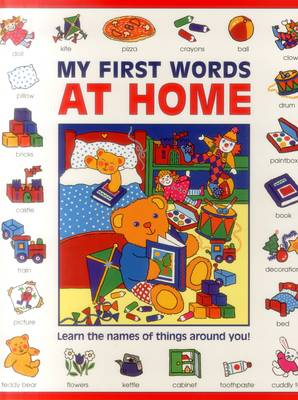 My First Words: At Home (Giant Size) by Baxter Nicola