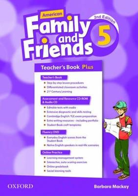 American Family and Friends: Level Five: Teacher's Book Plus: Supporting all teachers, developing every child by Naomi Simmons