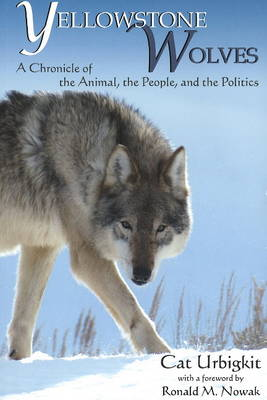 Yellowstone Wolves book