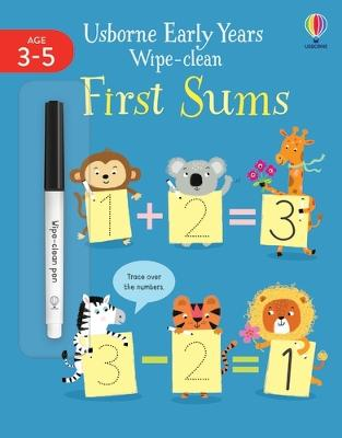 Early Years Wipe-Clean First Sums book