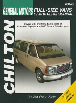 Chevrolet & GMC Full Size Vans (Chilton) book