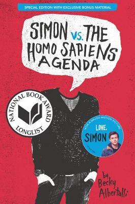 Simon vs. the Homo Sapiens Agenda Special Edition book
