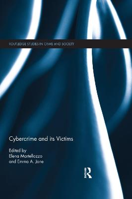 Cybercrime and its victims book