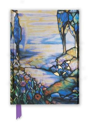 Tiffany: Cypress and Lilies (Foiled Journal) by Flame Tree Studio