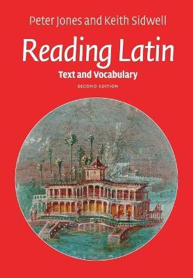 Reading Latin book