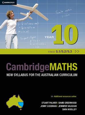 Cambridge Mathematics NSW Syllabus for the Australian Curriculum Year 10 5.1, 5.2 and 5.3 book