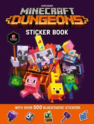 Minecraft Dungeons Sticker Book book