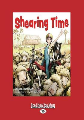 Shearing Time by Allison Paterson