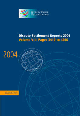 Dispute Settlement Reports 2004 book