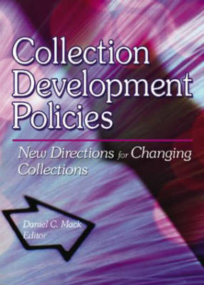 Collection Development Policies by Linda S. Katz