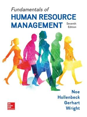 Fundamentals of Human Resource Management by Barry A. Gerhart