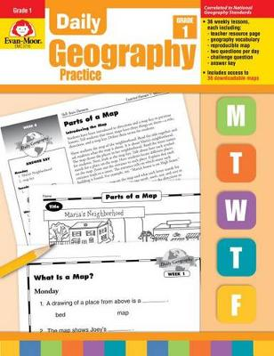 Daily Geography Practice by Evan-Moor Educational Publishers