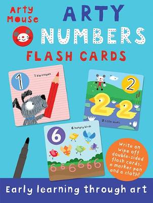 Arty Numbers Flash Cards by Susie Linn