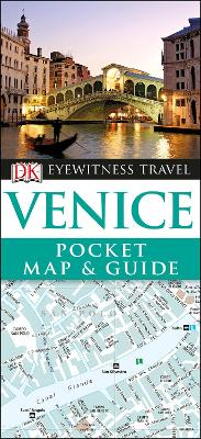 Venice Pocket Map and Guide by DK Travel