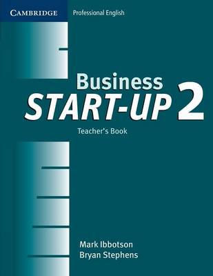 Business Start-up 2 Teacher's Book book