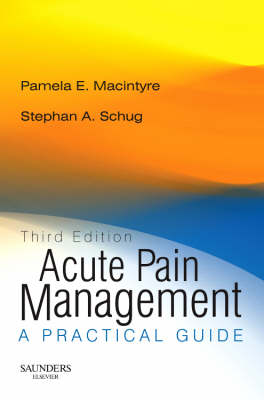 Acute Pain Management - Rights Reverted by Pamela E. Macintyre