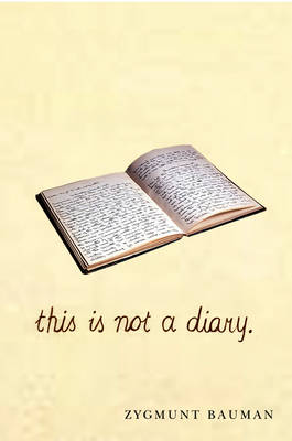 This is Not a Diary book