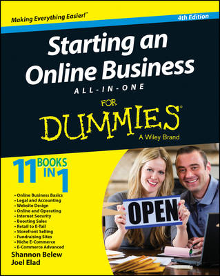 Starting an Online Business All-In-One for Dummies, 4th Edition by Shannon Belew