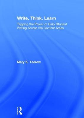Write, Think, Learn book