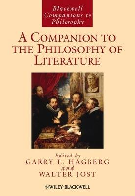 Companion to the Philosophy of Literature book