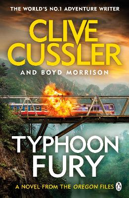 Typhoon Fury: Oregon Files #12 by Clive Cussler