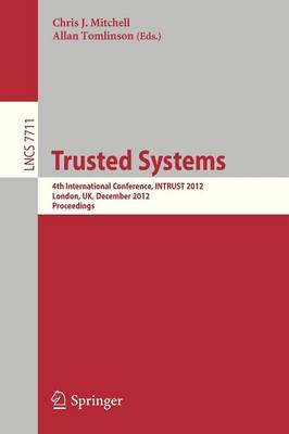 Trusted Systems by Chris J. Mitchell