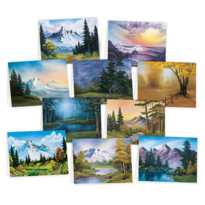 Bob Ross Notecards by Bob Ross