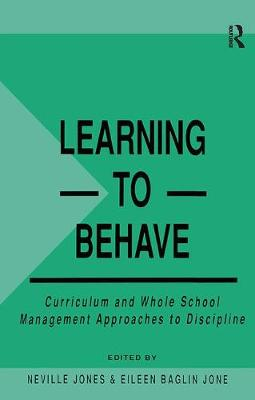 Learning to Behave by Eileen Baglin Jones