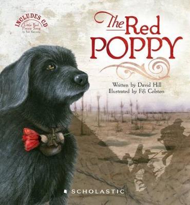 Red Poppy + CD by David Hill
