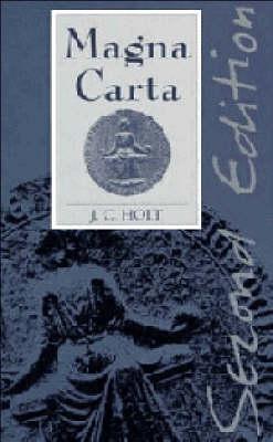 Magna Carta by J. C. Holt