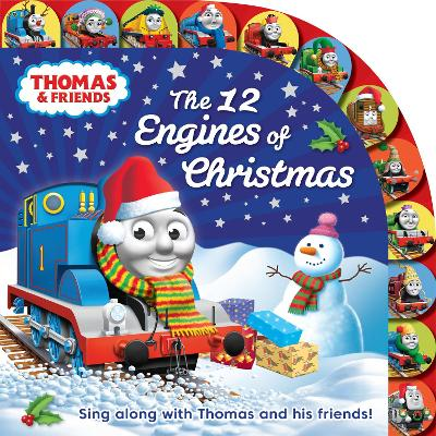 Thomas & Friends: The 12 Engines of Christmas book