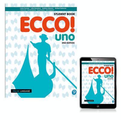Ecco! uno Student Book with eBook by Liana Trevisan