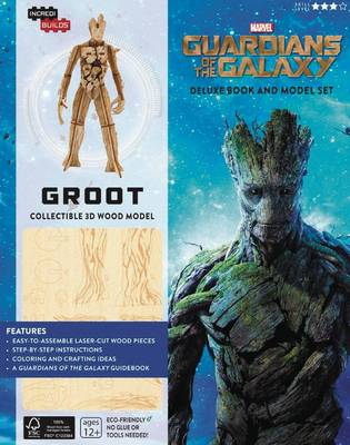 Incredibuilds: Marvel: Groot: Guardians of the Galaxy Deluxe Book and Model Set by Marc Sumerak