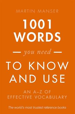 1001 Words You Need To Know and Use book
