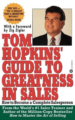 Tom Hopkin's Guide to Greatness in Sales book