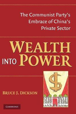 Wealth into Power book