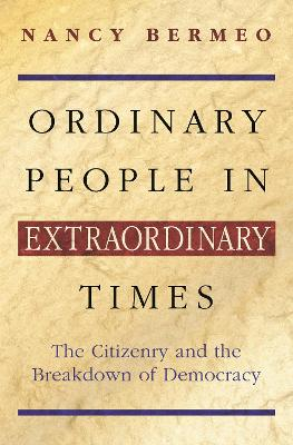 Ordinary People in Extraordinary Times book