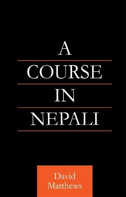Course in Nepali by David Matthews