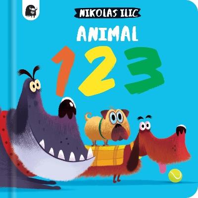 Animal 123 book