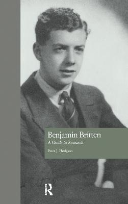 Benjamin Britten book