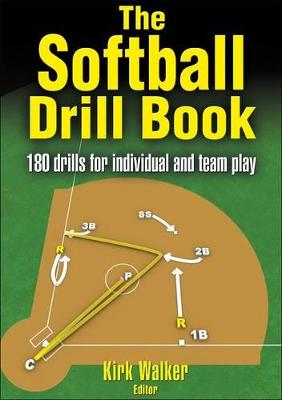 The Softball Drill Book by Kirk Walker