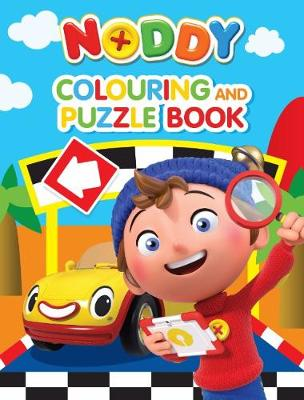 Noddy Toyland Detective Colouring and Puzzle Book by DreamWorks: Noddy Toy Detective