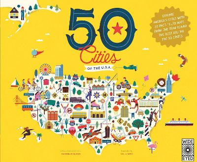 50 Cities of the U.S.A. by Gabrielle Balkan